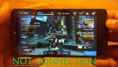 Cara Bermain Modern Combat 5: Blackout Tanpa Koneksi Internet/Wifi