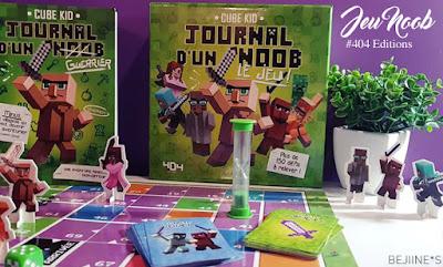 Minecraft : le jeu Journal d'un Noob