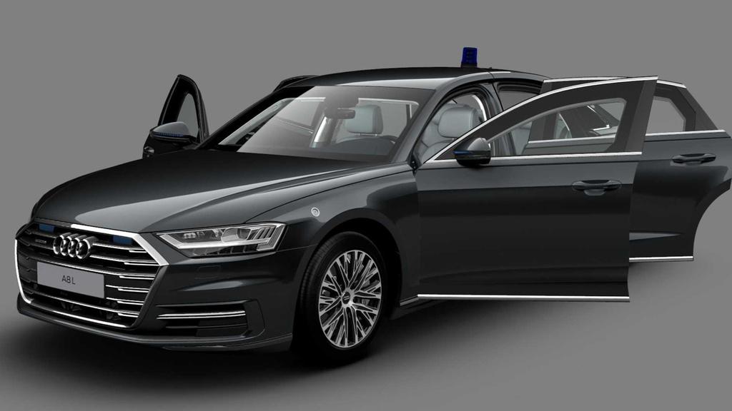 Audi A8 L phiên bản chống đạn có giá 750.000 USD