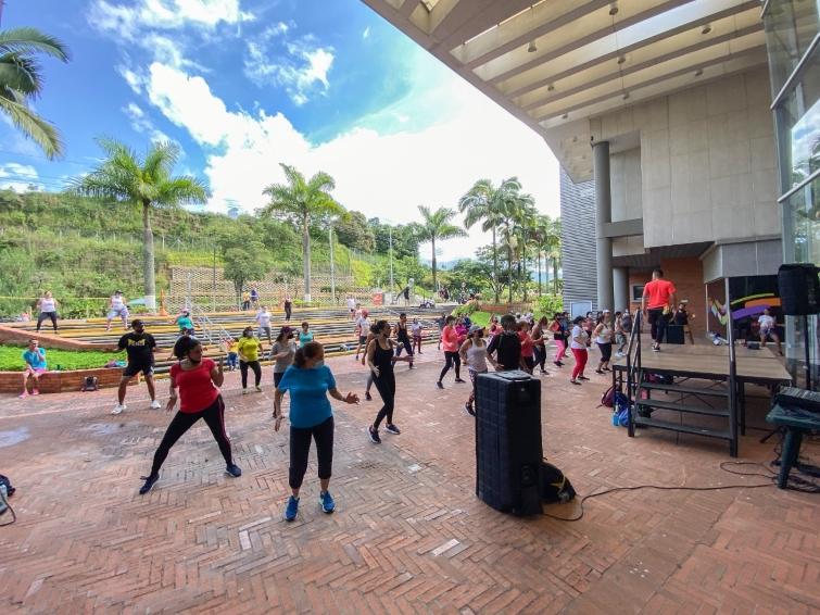 El deporte y la actividad física se tomaron los parques de la Capital del Eje en el Día del Deporte Pereirano