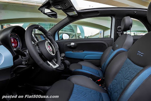 Fiat 500 Hybrid Launch Edition Seats