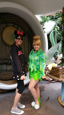 Tink Tinkerbell Disneyland Disneyworld Chrismas Wendy Kolar Mullen writer author Fairy Tale