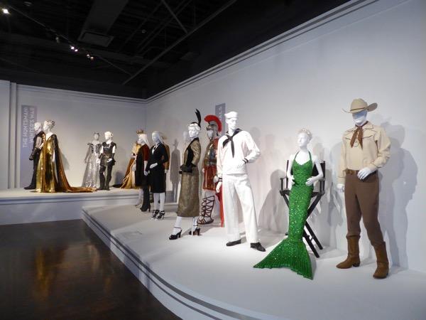 Film costumes FIDM Museum LA