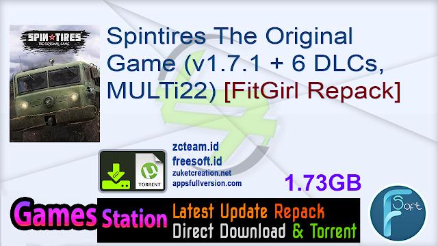 Spintires The Original Game (v1.7.1 + 6 DLCs, MULTi22) [FitGirl Repack]