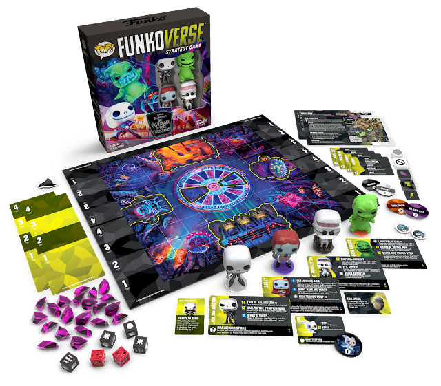 Funkoverse Nightmare Before Christmas - 4 Must Have Funko Games for Your Pop Culture Loving Family with Tweens and Teens - dellahsjubilation.com