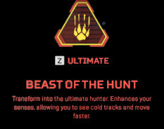 Beast of hunt Bloodhound ability