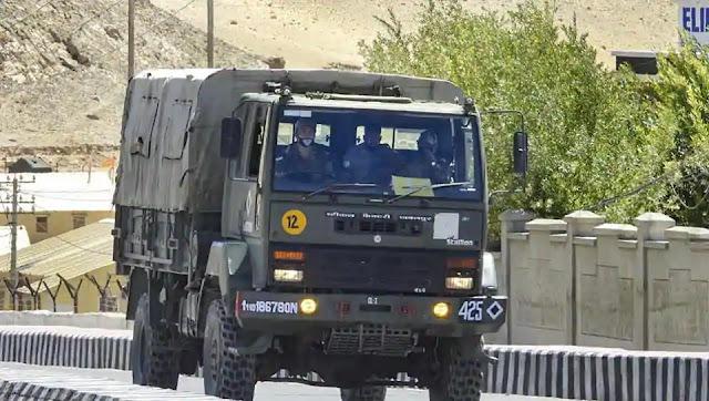 Indian army in ladakh
