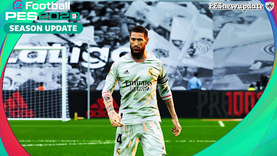 PES 2020 New Sergio Ramos 3/4 Sleeve for 20/21 Kit by Supernova