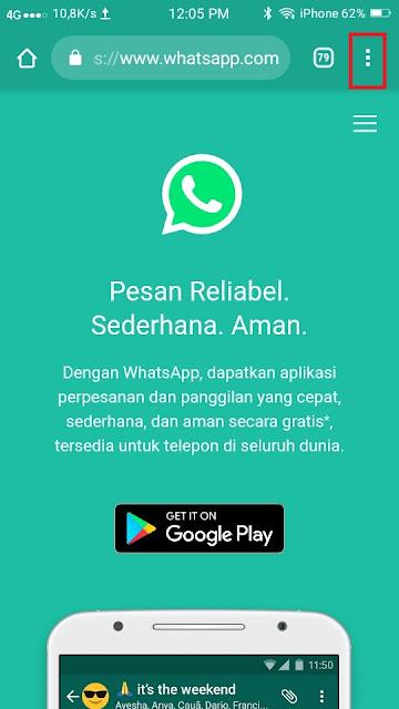 Cara Menyimpan Foto Profil Whatsapp- Dua HP