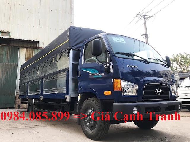 Xe tải Hyundai 7 tấn thùng bạt 6m3