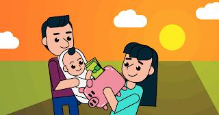 money steps for child