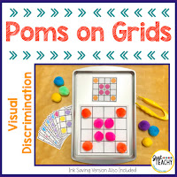 visual-discrimination-poms-on-grids