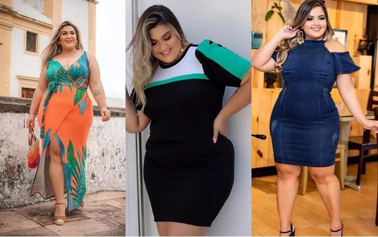 Vestidos plus size Shafa