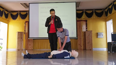 Belajar CPR dan Heimlich Manoeuvre Macam Ni lah Baru Best
