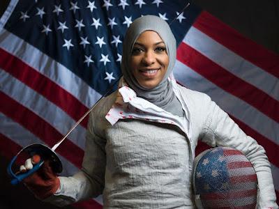Ibtihaj Muhammad, wanita muslim peraih medali olimpiade