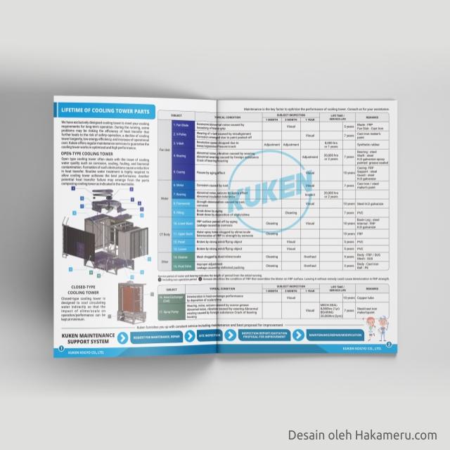 Brosur produk cooling tower