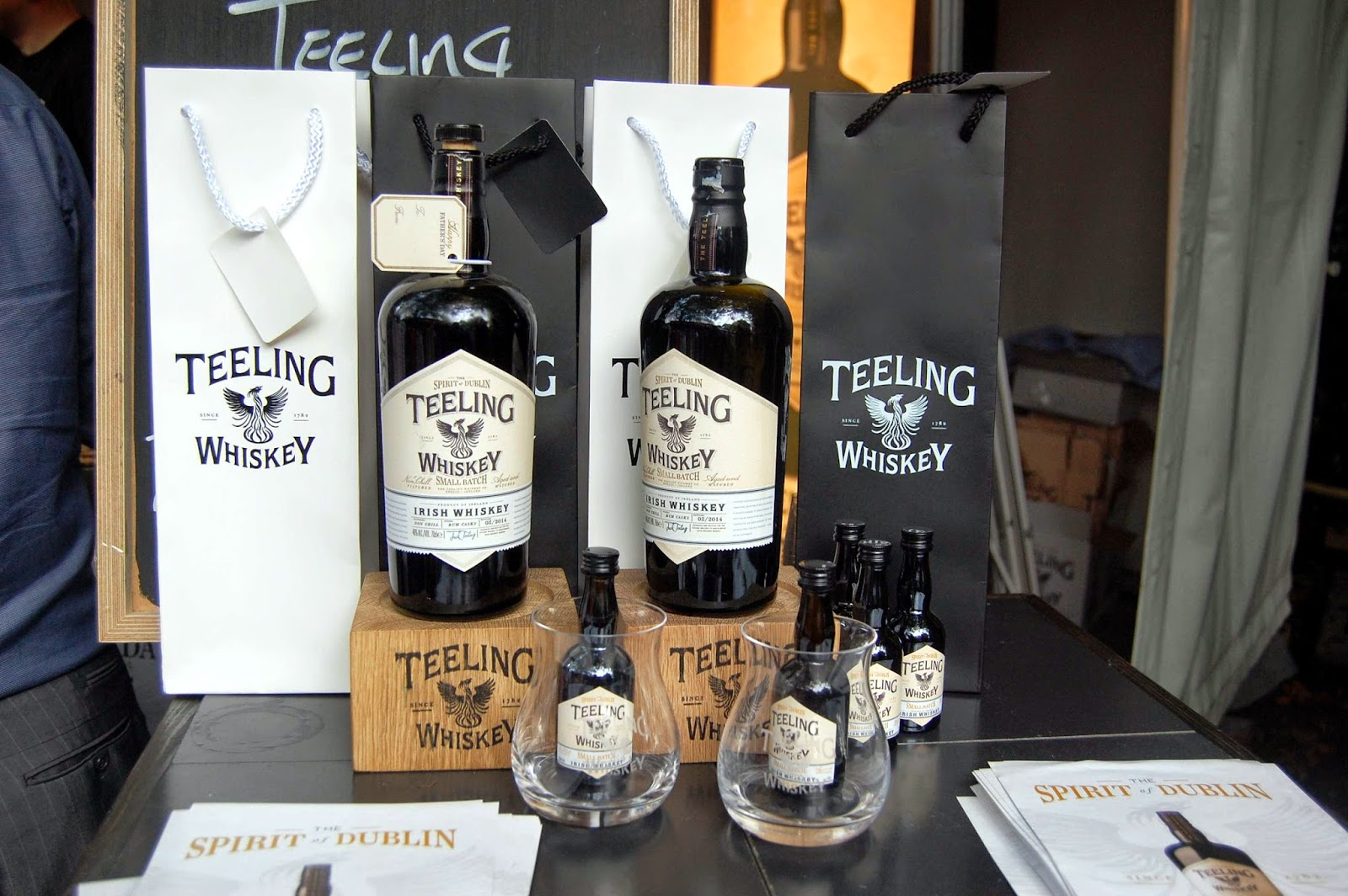 Stitch & Bear - Taste of Dublin 2014 - Teelings whiskey