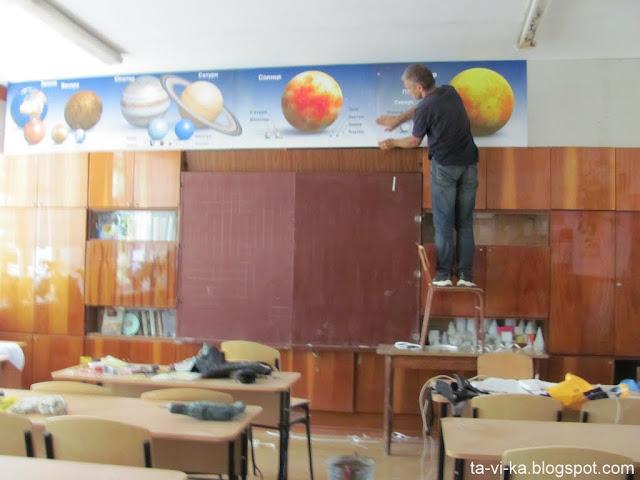 стенд планет в школу poster planets