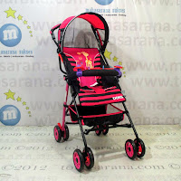 Kereta Bayi Does DS203 First Friend Buggy