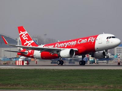 Tayar Pesawat A320 Milik AirAsia Pecah Ketika Mendarat di Sibu