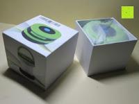 auspacken: OUTAD 2-in-1 Outdoor Wireless Bluetooth Lautsprecher & LED Lampe mit eingebautem Mikrofon, einstellbarem Licht und Broadcom 3.0