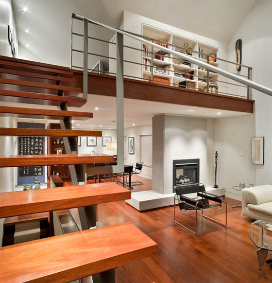 Modern Home Plans With Lofts: Loft Furniture's Ideas For Furnishing Your Loft