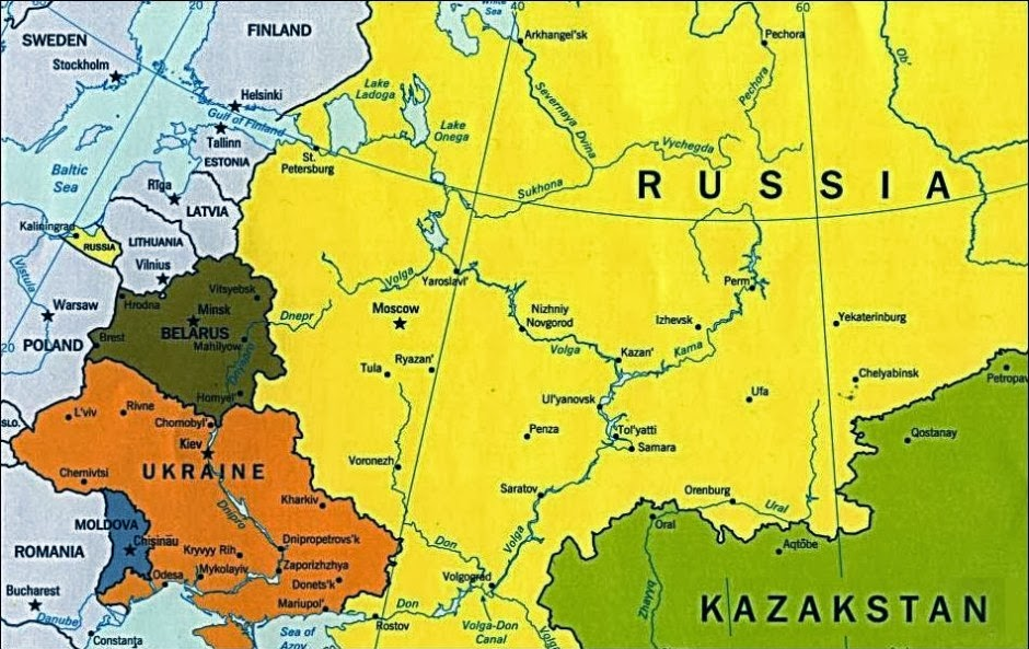 On Dismembering Ukraine The Russian 25