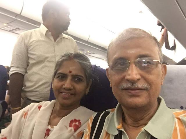 Flight to New Delhi