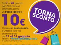 Logo Volantino e Tornasconto Tigotà: ricevi buono sconto da 10 euro