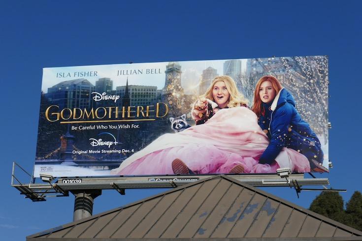 Godmothered film billboard
