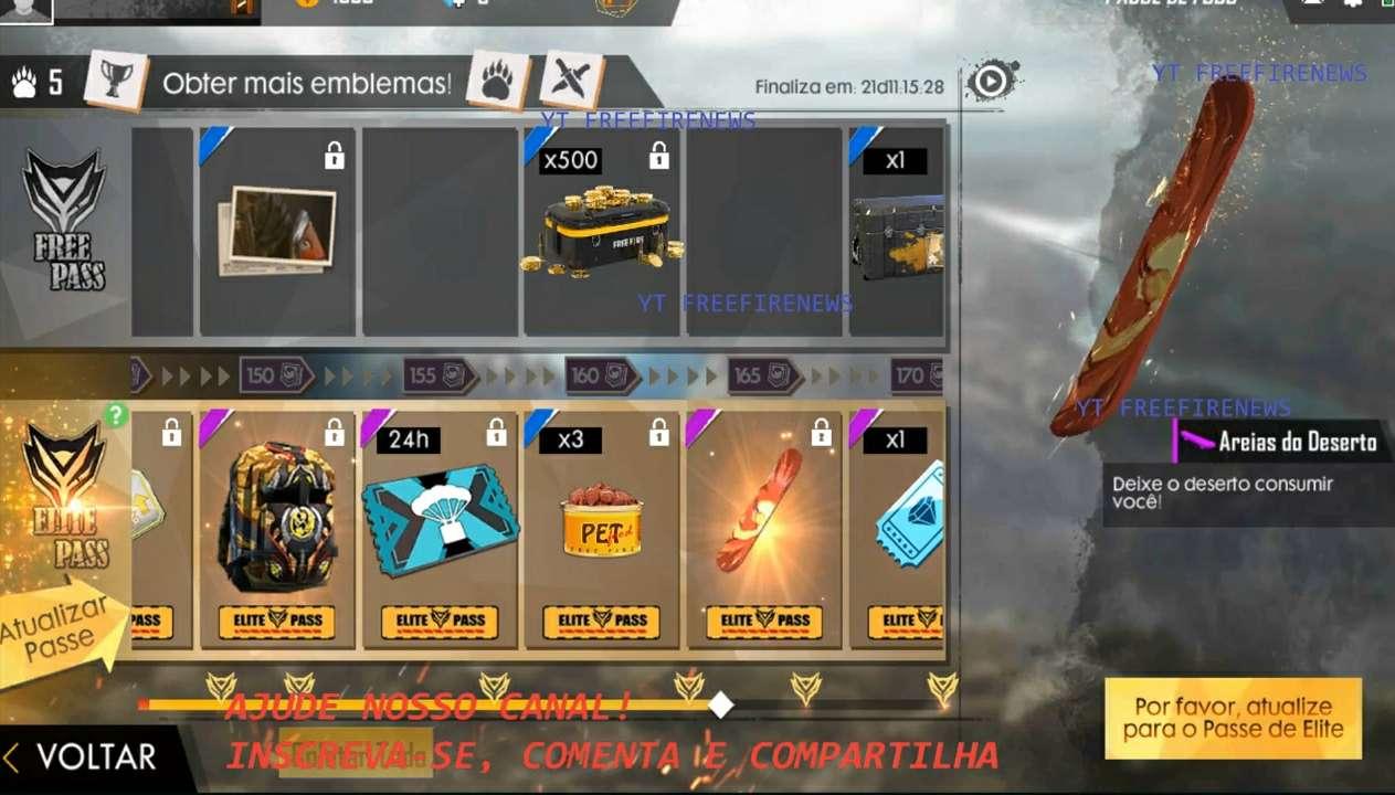 Di bocoran terbaru kali ini aku akan memperlihatkan  Bocoran Terbaru Elite Pass Season 15 Desert Scorpion