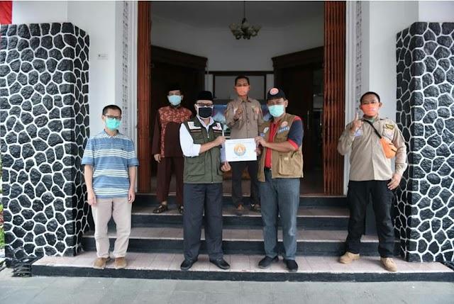 Pemkot Sukabumi Terima Bantuan APD untuk Tenaga Medis