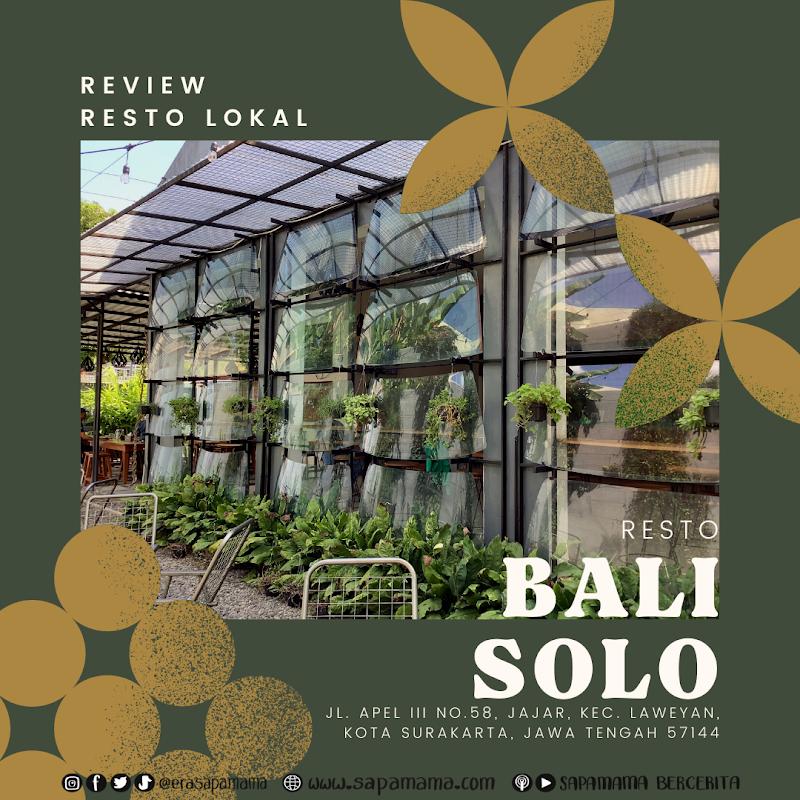 Rekomendasi Ayam Bakar di Solo, Ada Tom Yam Enak Resto Bali Solo