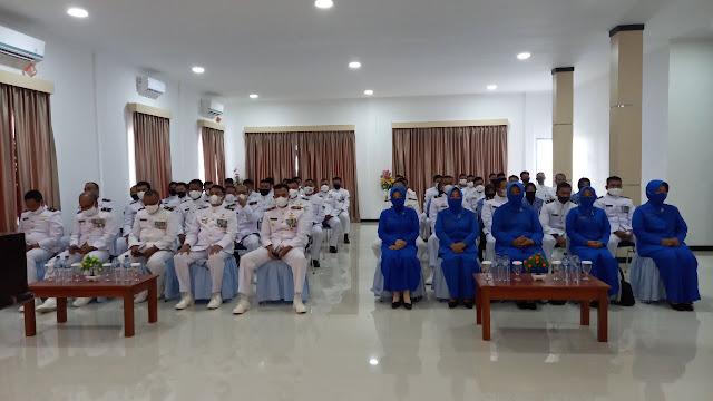 Danlanal Ranai Pimpin Upacara HUT TNI AL