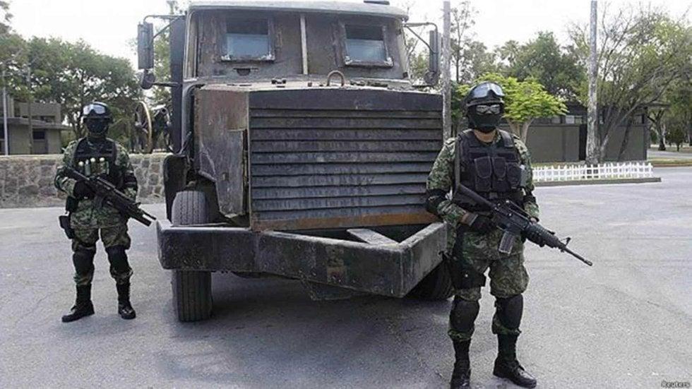 Estas son las poderosas armas que utilizan los sanguinarios Cárteles en México: desde Lanzacohetes... ¡hasta narcotanques!