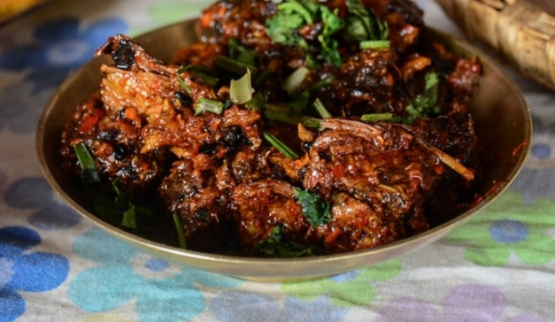 The easiest Way to Make Chicken Choila