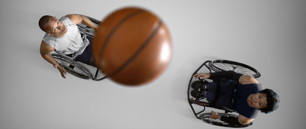 Pubblicità Apple Watch 2 ''sedia a rotelle'' giocatori Basket [ESCLUSIVA]
