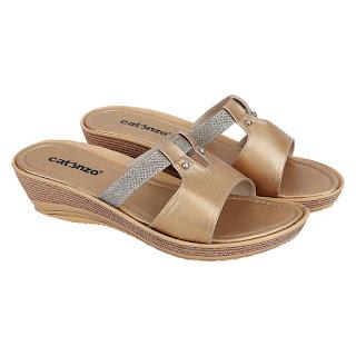 Sandal Wedges Wanita Catenzo RY 064