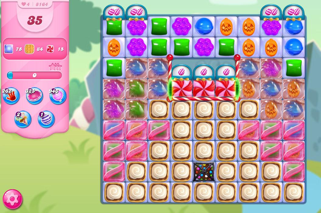 Candy Crush Saga level 8164