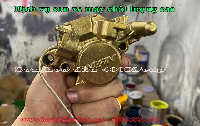 Mẫu Sơn heo dầu thắng xe máy cực đẹp giá rẻ