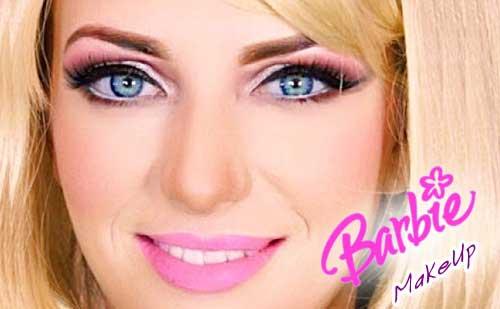 Maquillaje de Barbie o como maquillarse como una muñeca