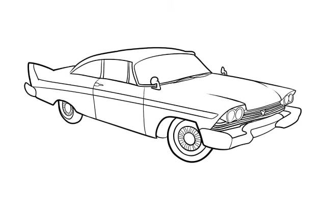 dibujos faciles de autos tuning