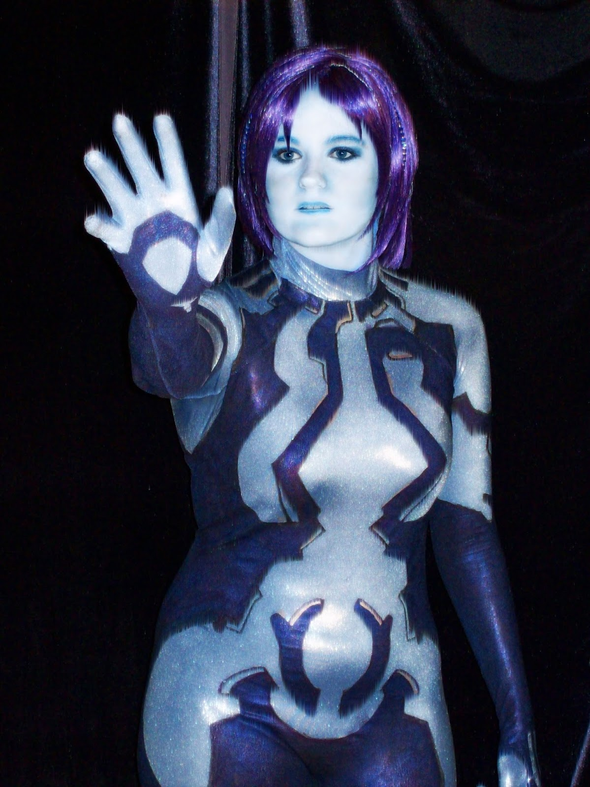 Hot cortana cosplay