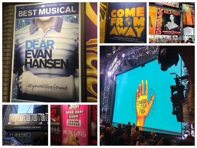 Broadway Musical Collage