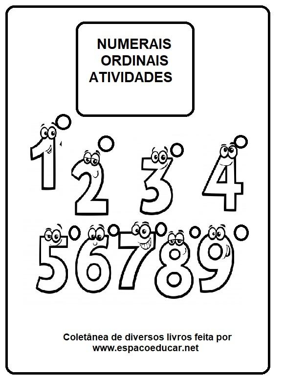 35 Atividades Sobre Numerais Ordinais Para Baixar Em Pdf 2º Ano