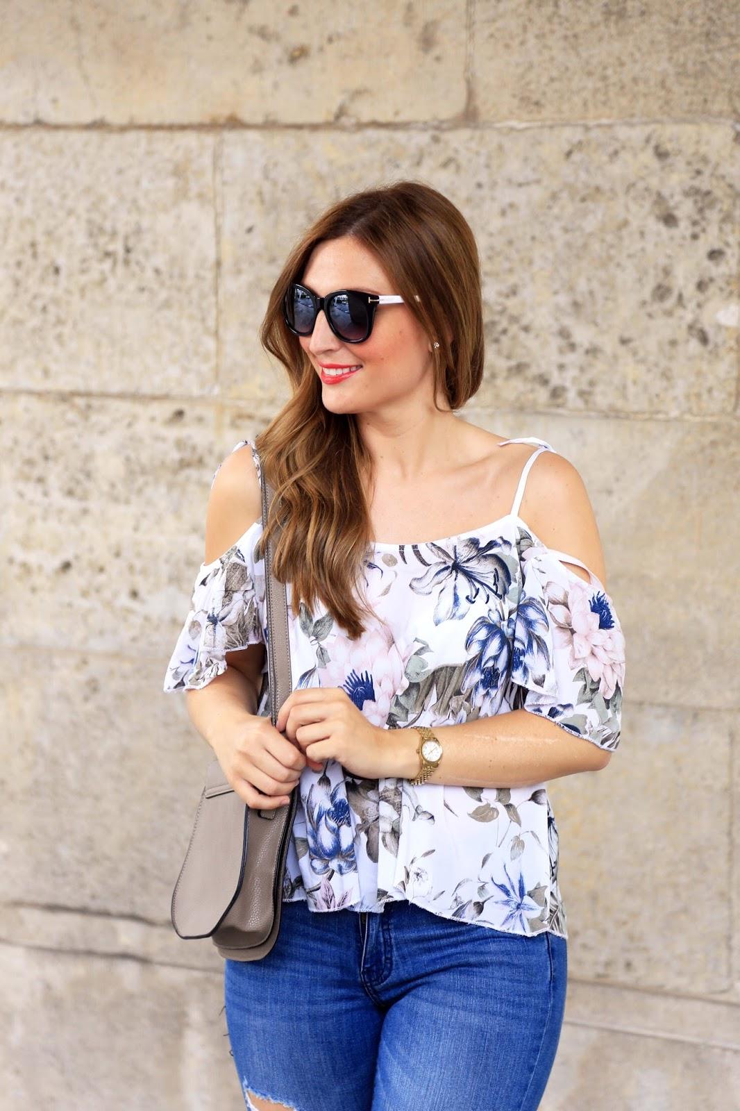 Bardot Bluse - Bluse im Bardot Look - Fashionstylebyjohanna - Bloggerlooks für den Sommer - Sommer Blogger Look