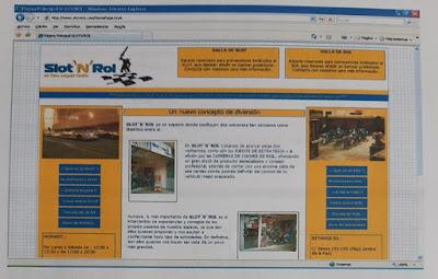 "Proyecto Web ""SlotnRol"" (Octubre 2009) - Pantalla 1"