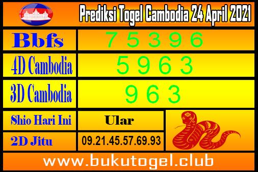 Prediksi Kamboja 24 April 2021