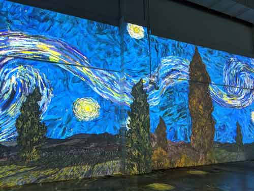 Immersive Van Gogh Toronto Drive Through