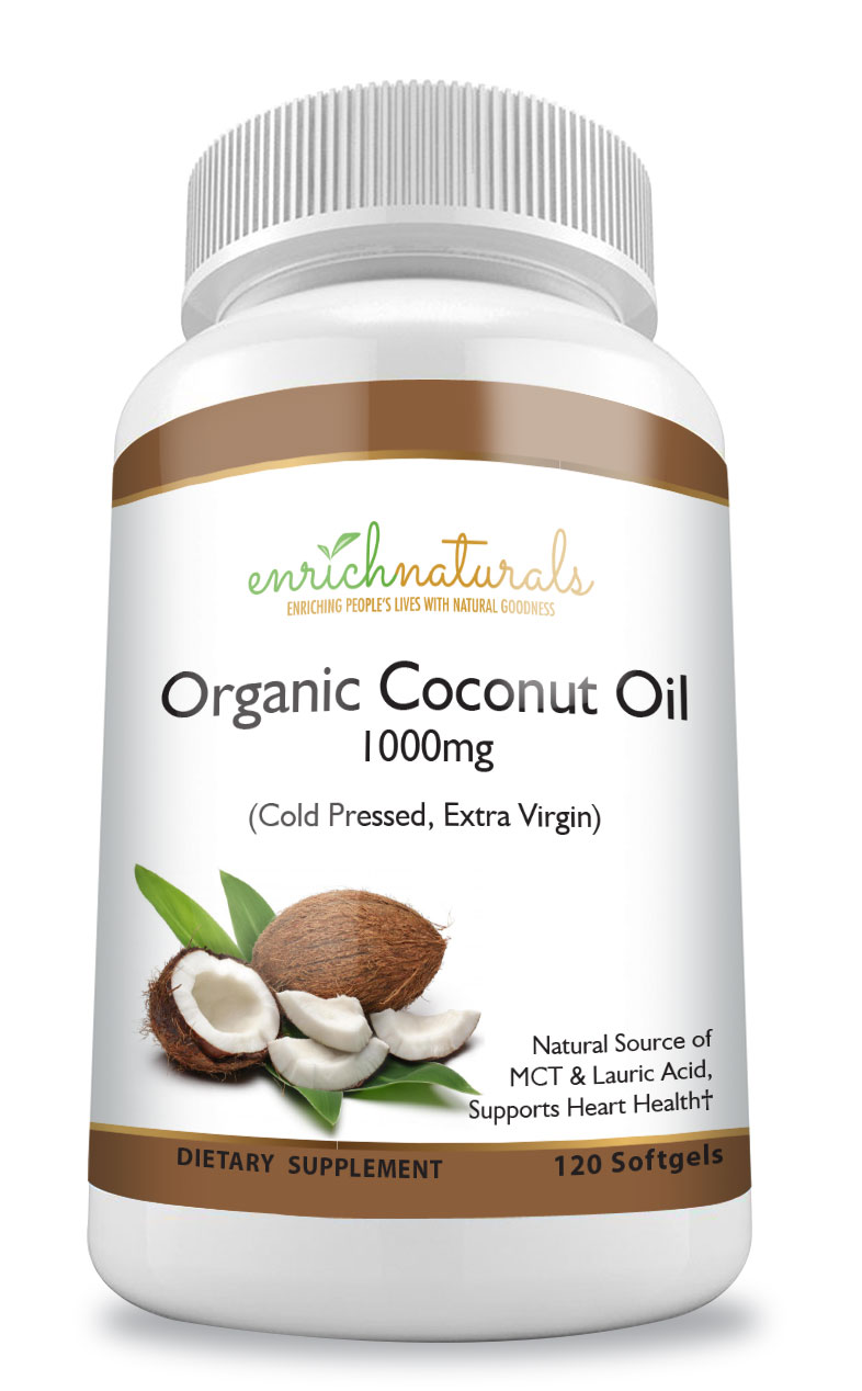 Organic Coconut Oil SoftGels